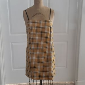 Urban Outfitters plaid shift dress